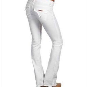 White Hudson Jeans 27